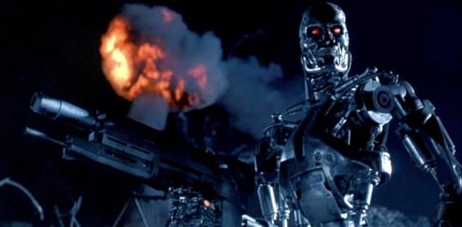 Scena di Terminator 2 originale
