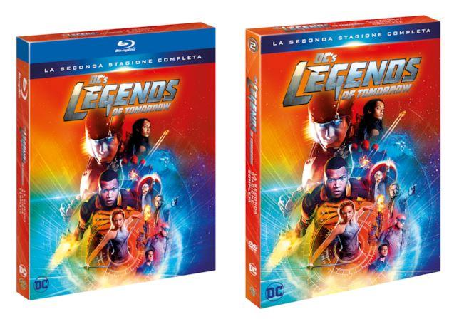DC's Legends of Tomorrow - stagione 2 in Home Video