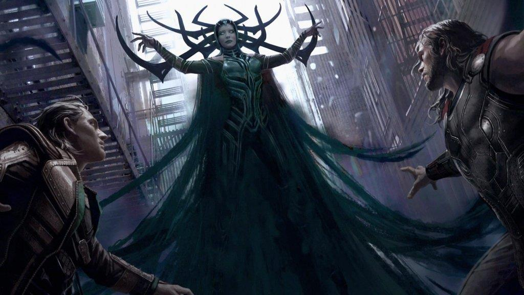Il personaggio di Hela in Thor: Ragnarok