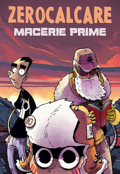 La copertina del nuovo fumetto di Zerocalcare