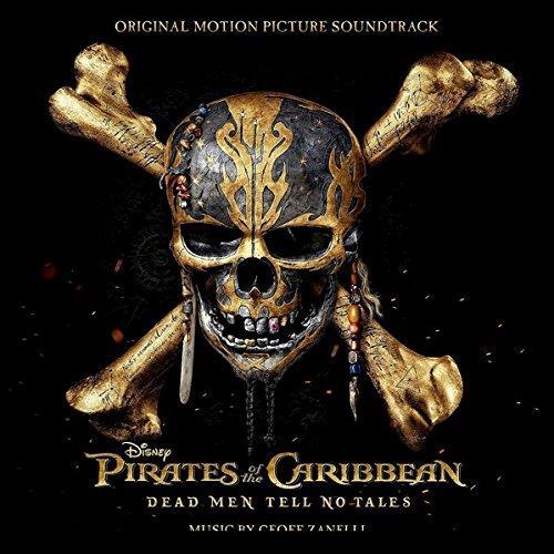 La copertina della colonna sonora I pirati dei Caraibi - La vendetta di Salazar