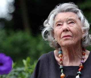 La scrittrice Rosamunde Pilcher