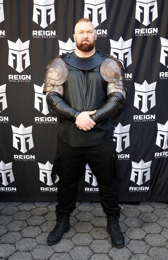 Hafþór Júlíus Björnsson, attore e atleta islandese