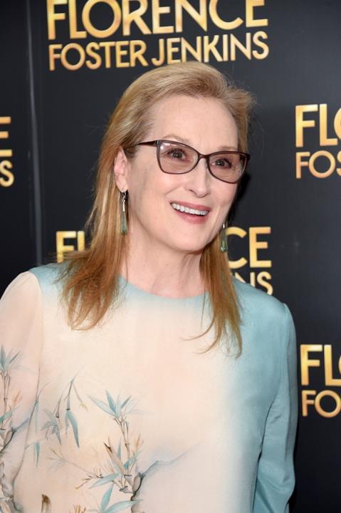 Meryl Streep alla prima del film Florence Foster Jenkins di Stephen Frears