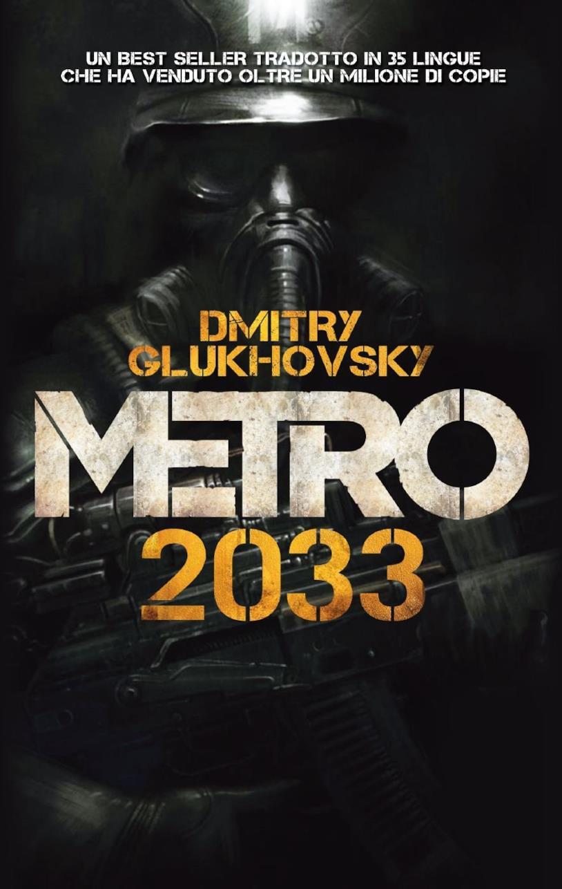 Copertina del primo romanzo della serie Metro 2033