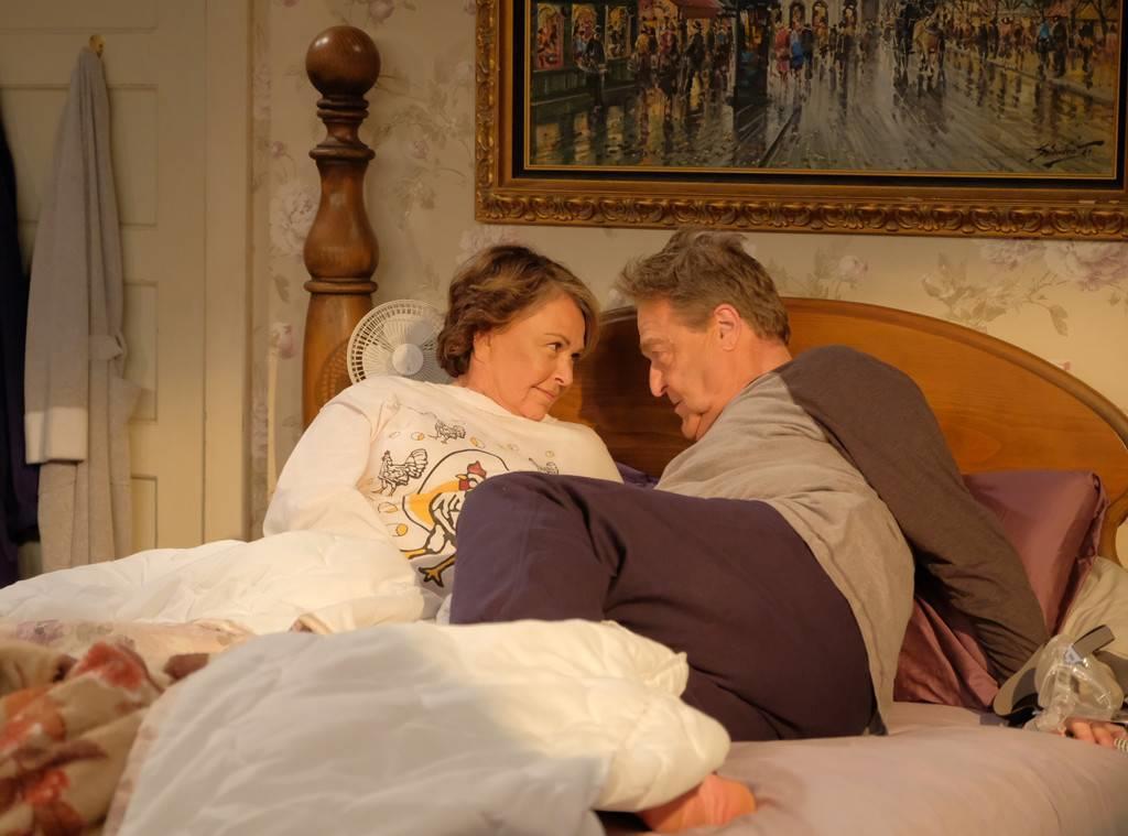 Roseanne e Dan a letto in Pappa e Ciccia