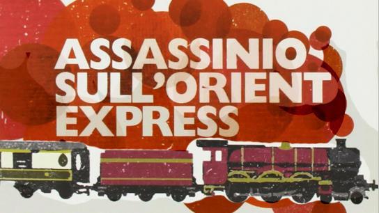Un dettaglio della copertina di Assassinio sull'Orient Express