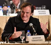Quentin Tarantino, regista di Bastardi Senza Gloria e The Hateful Eight