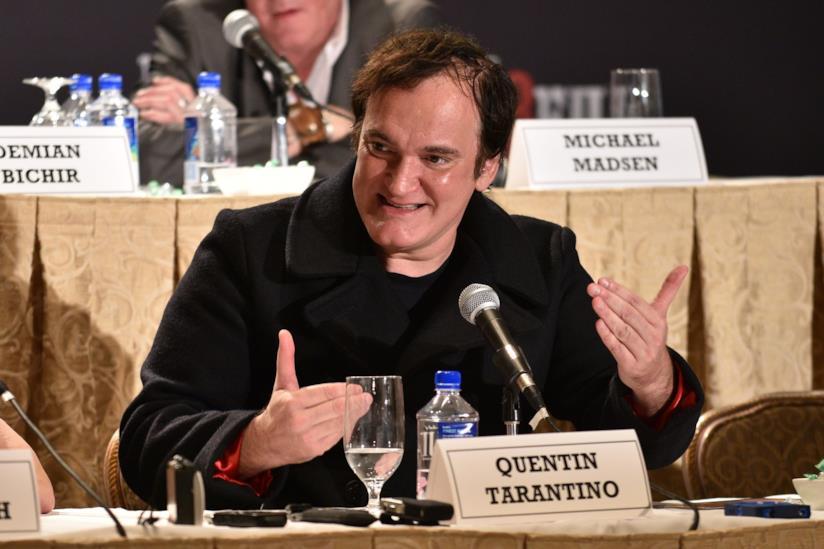 Quentin Tarantino, regista di Bastardi Senza Gloria e The Hateful Eight