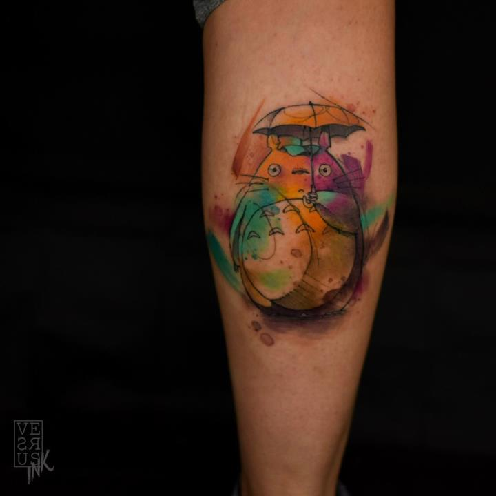 Tatuaggio Totoro 3