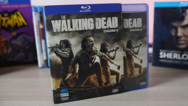 L'edizione in Blu-ray di The Walking Dead 8
