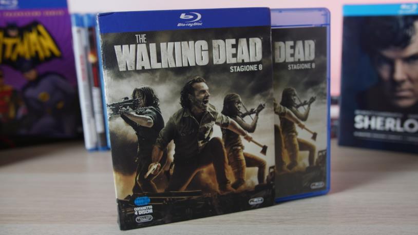 L'edizione in Blu-ray di The Walking Dead 8