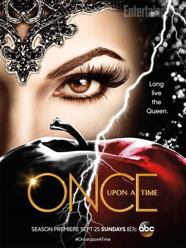 Il poster di C'era una volta diffuso da ABC per il San Diego Comic-Con