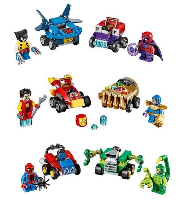 La seconda serie di Lego Mighty Micros dedicata al mondo Marvel