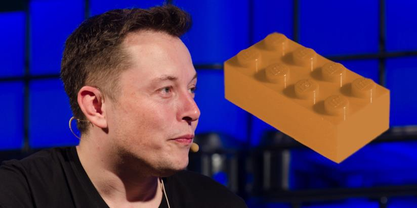 Elon Musk ha annunciato di voler produrre mattoni LEGO giganti