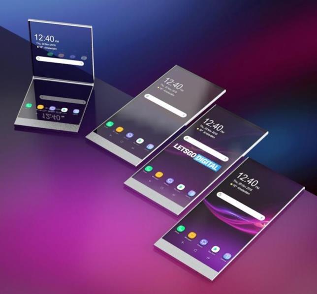 Concept realizzato da LetsGoDigital per lo smartphone trasparente brevettato da Sony