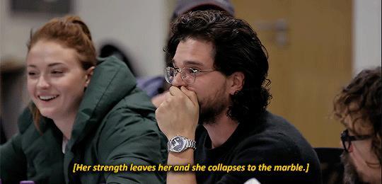 Kit Harington sconvolto per la morte di Daenerys