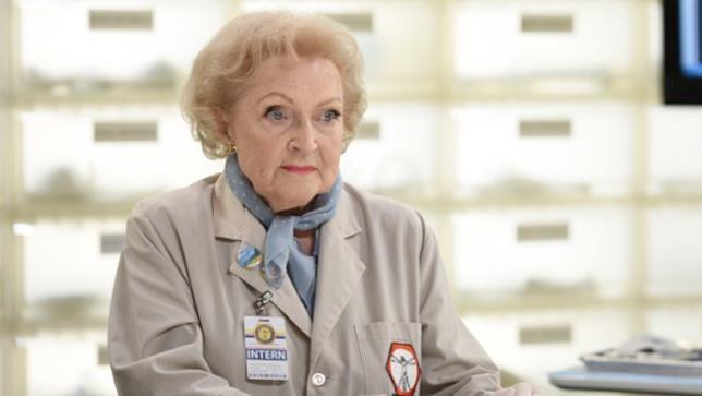 Beth Mayer alias l'attrice Betty White