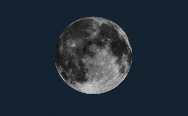 La Luna, in uno scatto reso disponibile dalla NASA.