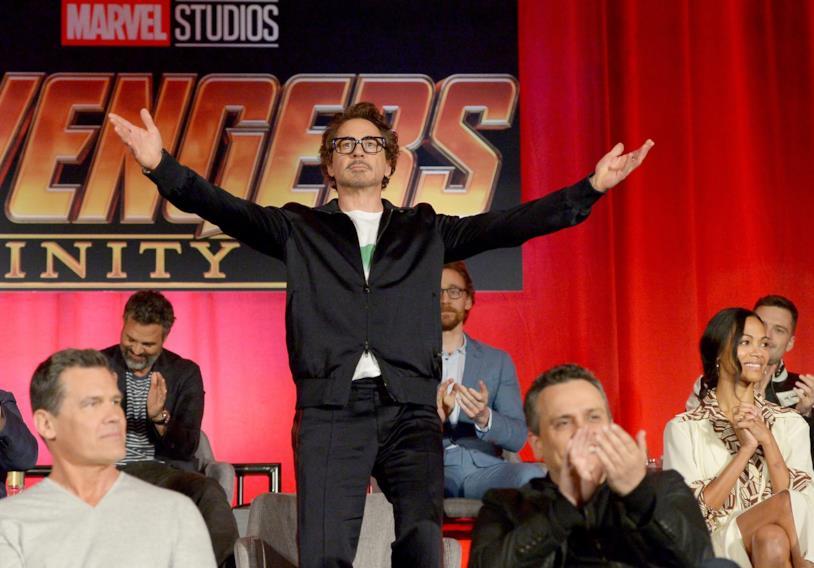 Robert Downey Jr. alias Tony Stark nel Marvel Cinematic Universe