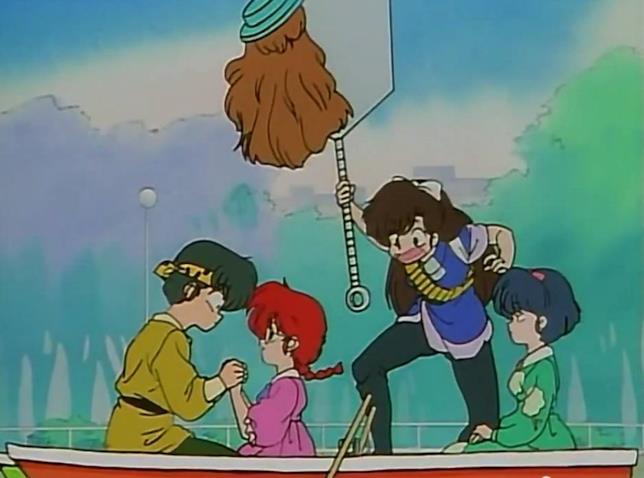 Ryoga fa la corte a Ranma ragazza