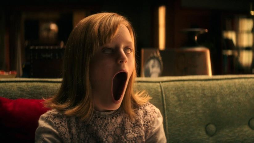 Bambina posseduta: una sequenza da brividi del film
