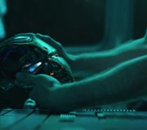 Tony Stark in una scena di Avengers: Endgame
