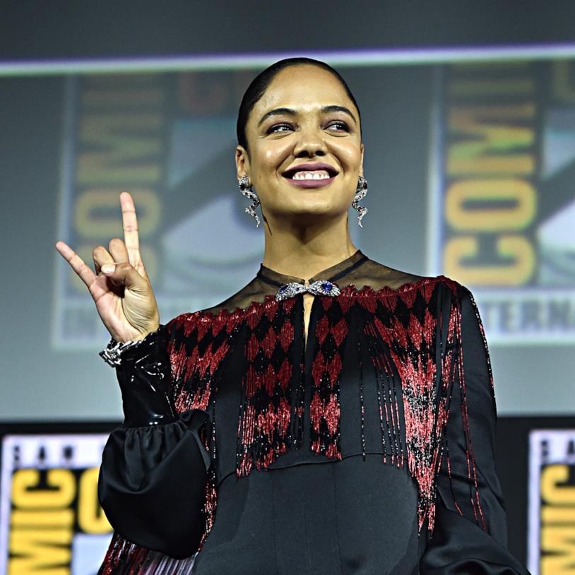 Tessa Thompson al Comic-Con di San Diego