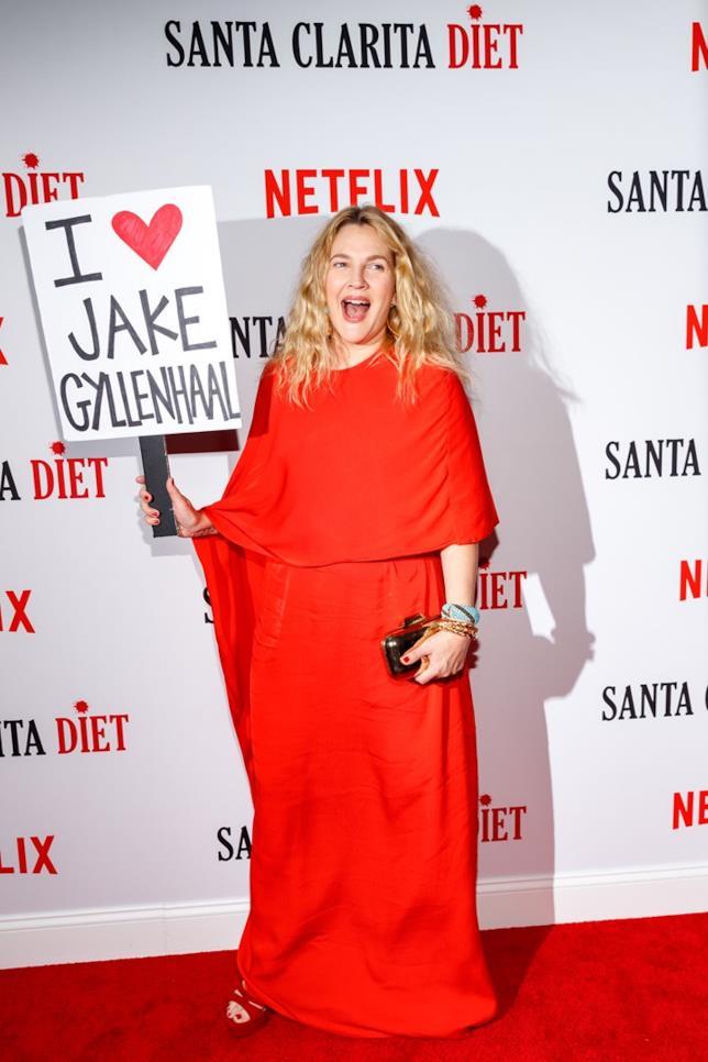 Drew Barrymore alla premiere di Santa Clarita Diet 2