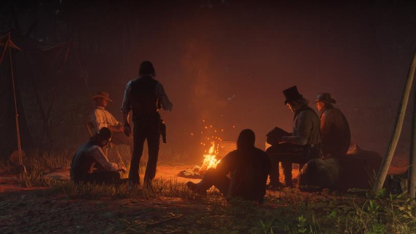Una scena di gioco da Red Dead Redemption 2