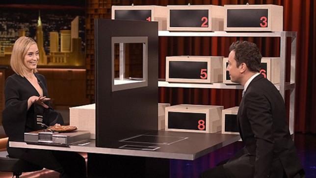 Emily Blunt ospite da Jimmy Fallon