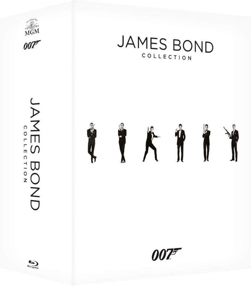 Copertina del cofanetto Blu-ray della saga di James Bond