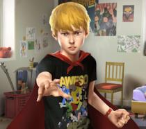 Chris, il protagonista de Le Fantastiche Avventure di Captain Spirit
