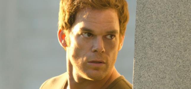 Michael C. Hall in una scena della serie Dexter
