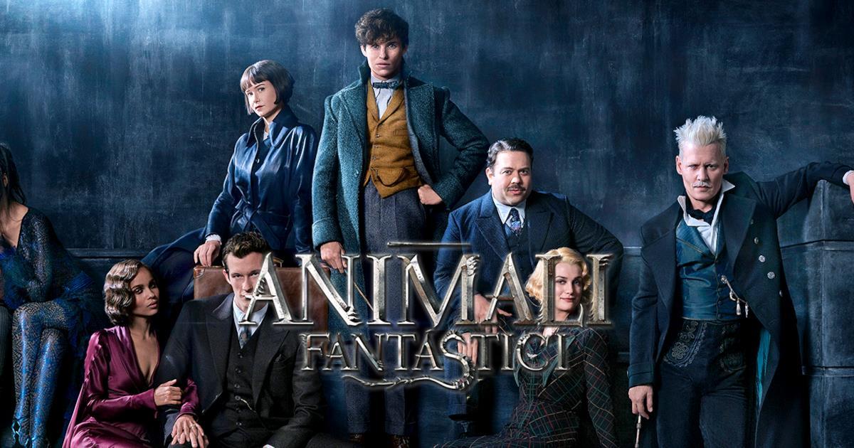 Animali Fantastici  Svelato Il Titolo Ufficiale Ecco Il Cast In Costume