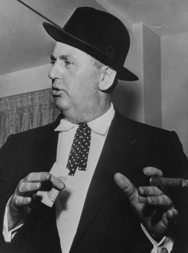 Il famoso manager di Elvis Presley, il Colonnello Tom Parker