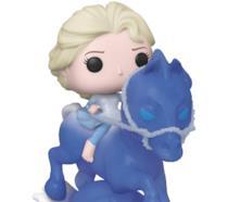 Il Funko Pop! con Elsa a cavallo del Nokk