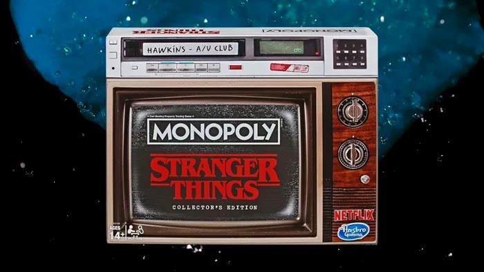 L'edizione da collezione del Monopoly di Stranger Things