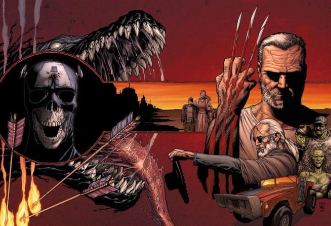 Una cover di Vecchio Logan