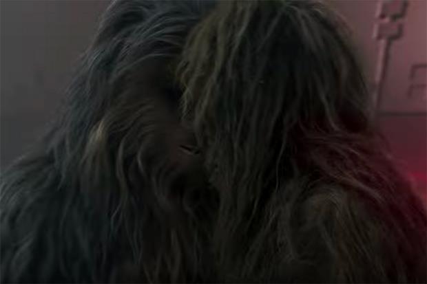 Immagine di Chewbacca e Lumpawaroo