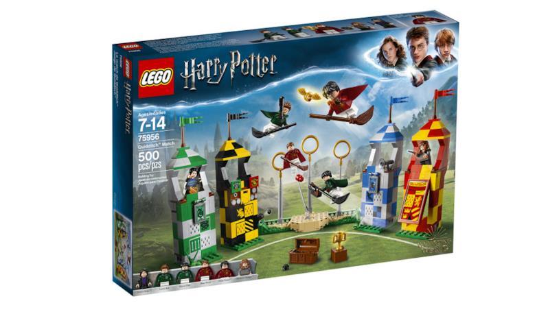 Dettagli del box Quidditch Match (La partita di Quidditch) di LEGO