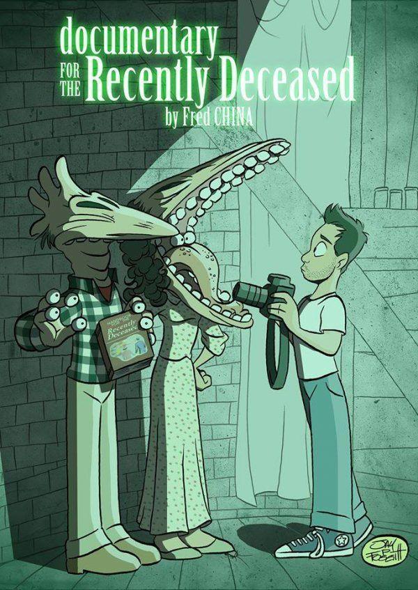Poster alternativo di Recently Deceased disegnato da Jay Fosgitt