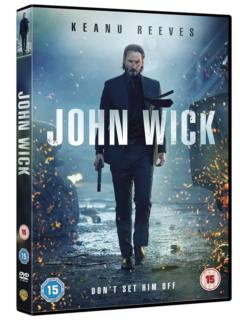 La copertina di John Wick