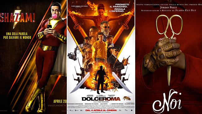 I poster di Shazam!, Dolceroma, Noi