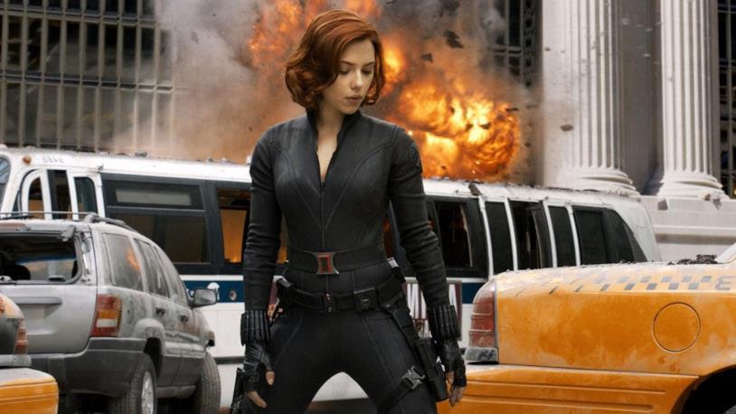 Scarlett Johansson nel primo The Avengers