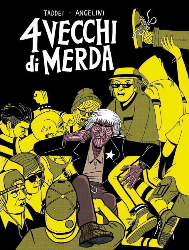 La copertina del fumetto di Taddei e Angelini