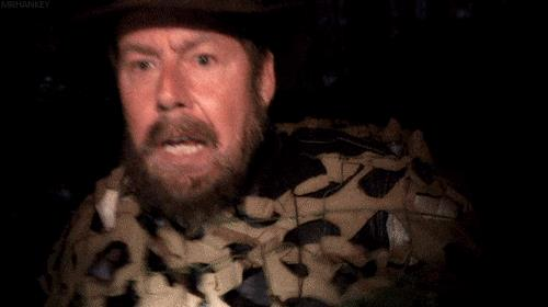 Una scena del mockumentary norvegese Troll Hunter