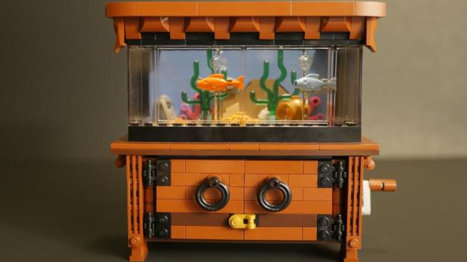 L'acquario è stato costruito da un fan  per LEGO Ideas