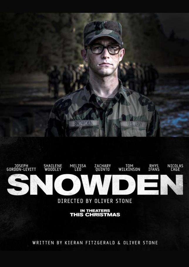 Oliver Stone torna al cinema con Snowden