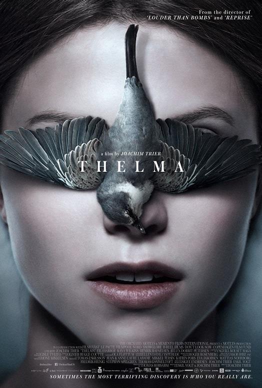 Il poster ufficiale dell'horror Norvegese Thelma